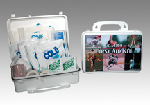 Coach's XL Plastic First Aid Kit