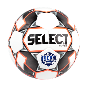 Super NJCAA White Soccer Ball