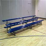 Tip and Roll Powder Coated Bleachers