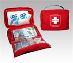 Sports Deluxe First Aid Kit Red