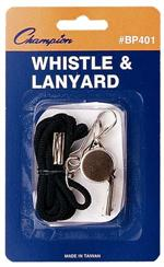 Whistle with Lanyard BP401