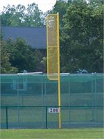 Professional 20' Foul Pole