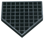 Bury-All Home Plate (Rubber Construction)